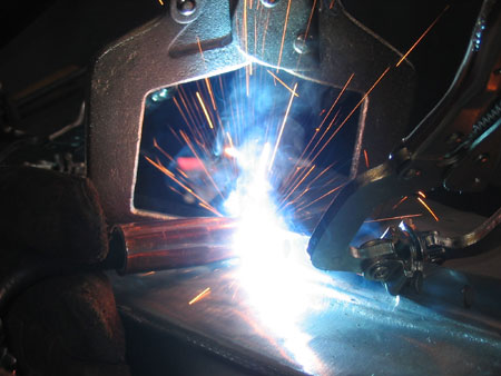 welding the rocker